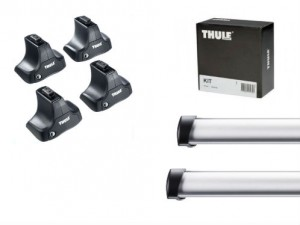 Barres Professionnelles Thule Land Rover Freelander 2 (toit Normal)