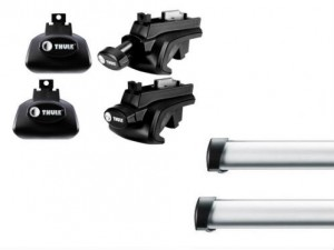 Barres Professionnelles Thule Jeep Cherokee (2002-2013)