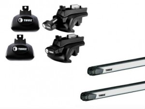 Barres Coulissantes Thule Jeep Cherokee (2002-2013)
