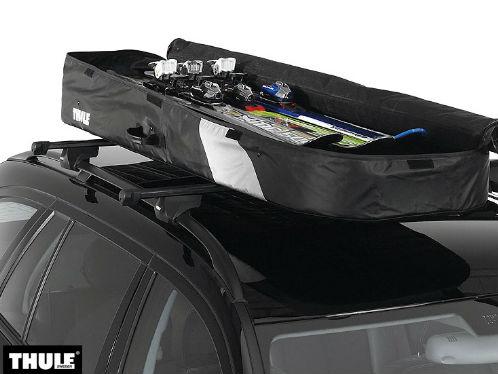 coffre de toit pliable pour voiture thule ranger 500. Black Bedroom Furniture Sets. Home Design Ideas