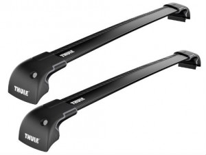 2 Barres De Toit Thule 9591 Wingbar Edge Noir