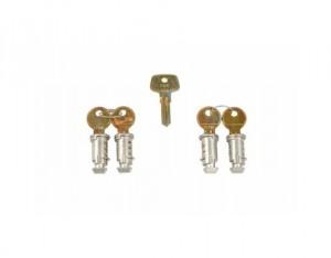 4 Serrures Antivol 544 One Key System
