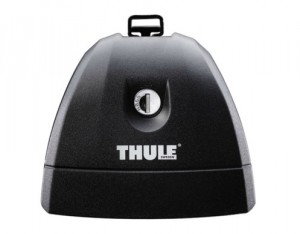 4 Pieds Thule 751 Pour Barres De Toit