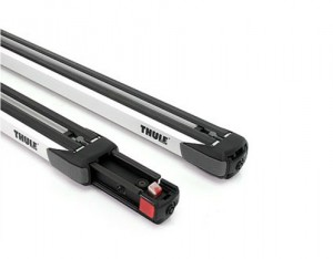 2 Barres De Toit Thule 892 Aluminium Slidebar