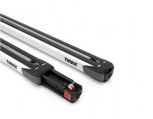 2 Barres De Toit Thule 893 Aluminium Slidebar