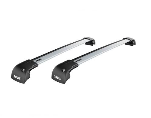 2 barres de toit thule 9591 wingbar edge meovia boutique d 39 accessoires automobiles. Black Bedroom Furniture Sets. Home Design Ideas