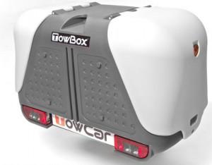 Coffre Towbox V2 Gris 390l
