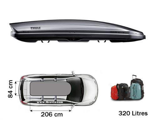 coffre de toit thule dynamic 800 titane meovia boutique d accessoires automobiles
