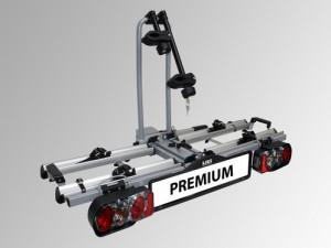 Porte 2 velos sur attelage falcon premium