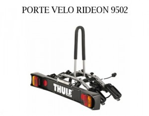 Porte 2 velos sur attelage rideon 9502