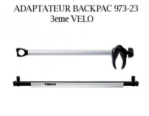 Adaptateur backpac 3eme velo