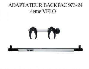 Adaptateur backpac 4eme velo