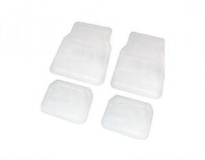 4 tapis pvc transparents