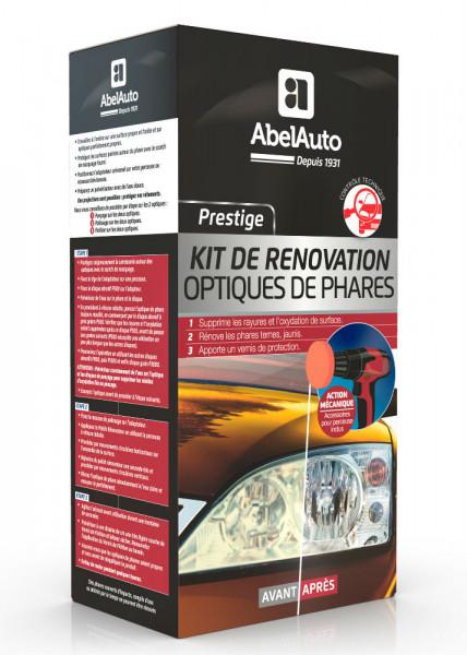Kit de rénovation optiques de phares mécanique