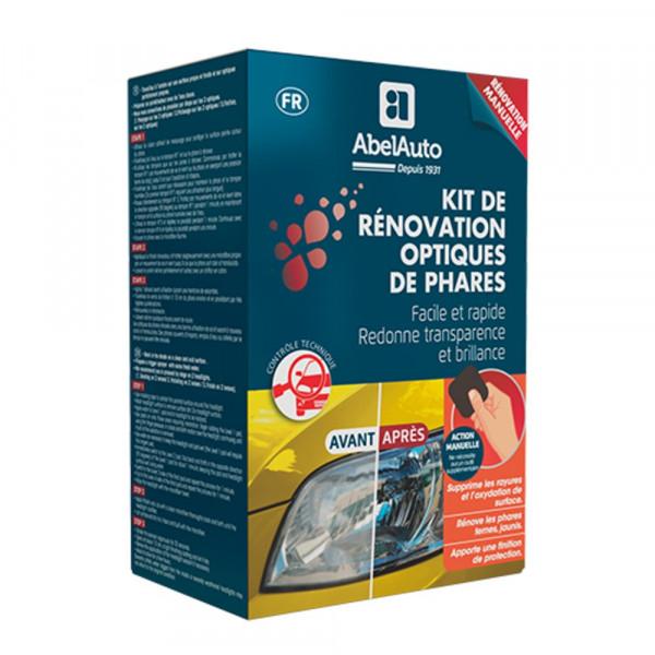 Kit de rénovation optiques de phares manuel