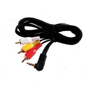 Cable 3 rca male/jack 3,5 male