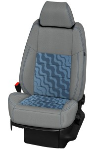 Housses Tissu Style Bleu 10889