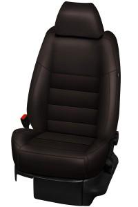 Housses Cuir Synthétique Marron 50016
