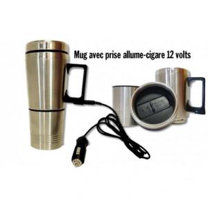 Mug électrique 12V 0,5 Litre