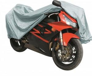 Bâche moto luxe XL 246x104x127 cm