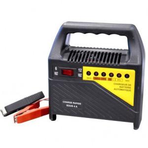 Chargeur de batterie 4A 6/12V