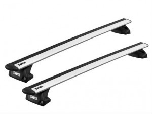 Barres de toit Suzuki Sx4 S-Cross depuis 09/2013 (toit Avec Barres) Thule WingBar Evo aluminium