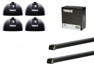 Barres Acier Thule Opel Astra Break (2007-2010)