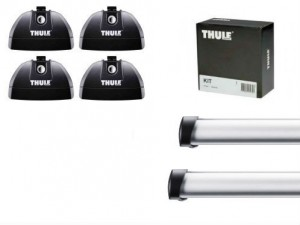 Barres de toit Honda Civic Tourer (2014-) Thule ProBar aluminium