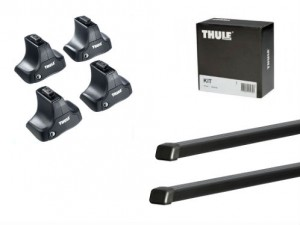 Barres Acier Thule Jeep Grand Cherokee (2010-) (toit Normal)