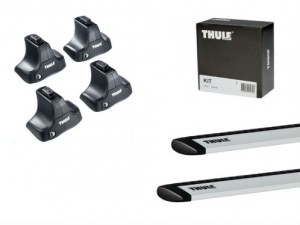 Barres Aluminium Thule Jeep Grand Cherokee (2010-) (toit Normal)