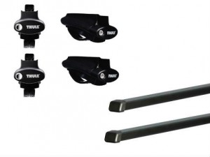 Barres Acier Thule Jeep Grand Cherokee