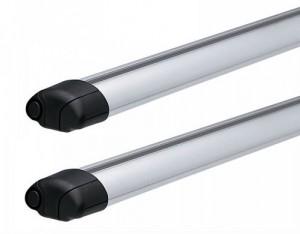 2 Barres De Toit Thule 860 Aluminium Aerobar