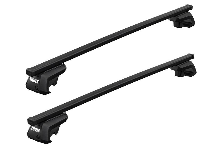 barres de toit peugeot 2008 depuis 04 2013 toit avec barres thule squarebar acier. Black Bedroom Furniture Sets. Home Design Ideas