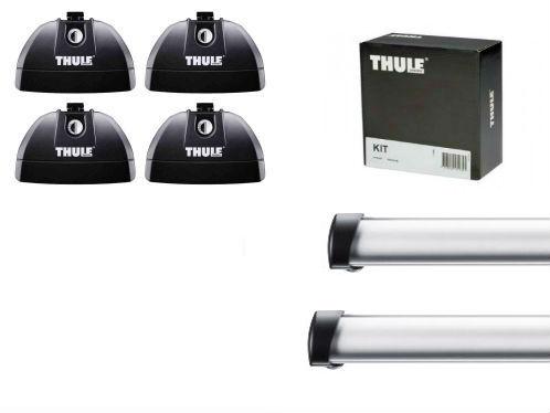 Barres de toit Peugeot 207 Thule ProBar aluminium