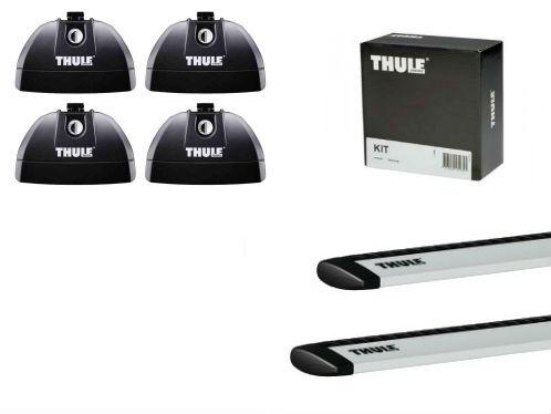 Barres de toit Bmw Série 3 Gt (2013-) Thule WingBar aluminium