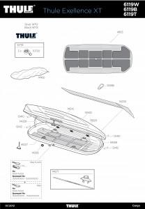 Coffre de toit Thule Excellence XT Titan