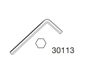 Thule 30113 Clé hexagonale 5mm
