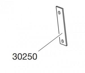 Thule 30250 Plaque de fixation pour pieds et galerie