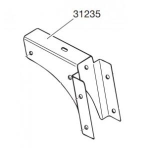 Thule 31235 Plaque pour pieds 420/427