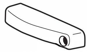 Thule 50017 Capuchon de verrouillage pour Xpedition