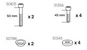 Thule 50927 Sac de montage kit 3058