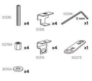 Thule 50947 Sac de montage kit 3043