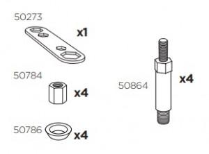 Thule 50965 Sac de montage kit 3049