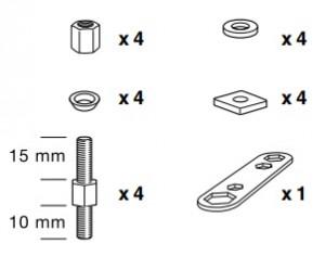 Thule 50966 Sac de montage kit 3051