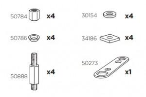 Thule 50967 Sac de montage kit 3055