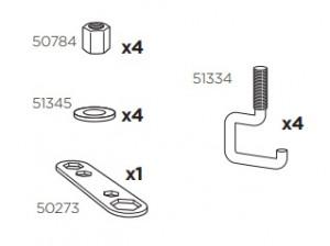 Thule 50984 Sac de montage kit 3067