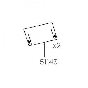 Thule 51143 Protection plastique pour EuroClassic G6 (x2)