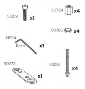 Thule 51317 Sac de montage kit 3089