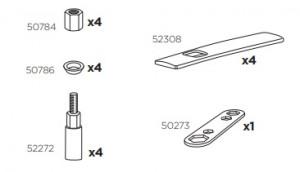 Thule 52308 Sac de montage kit 3120