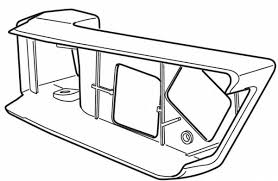 Thule 52370 Platine gauche pour EasyFold